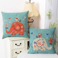 Elephant Bedroom Decorative Cushion Covers