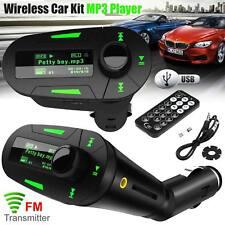 Nouvelle voiture FM Radio Sans Fil Transmetteur Audio MP3 Player USB SD Pour Téléphone Mobile