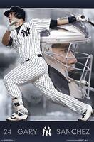 GARY SANCHEZ - NEW YORK YANKEES POSTER - 22x34 MLB BASEBALL 15525
