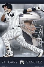 GARY SANCHEZ - NEW YORK YANKEES POSTER - 22x34 MLB BASEBALL 15525