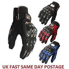 Summer Motorcycle Armoured Knuckle Bike Gloves Motorbike Motocross Pro Biker