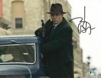 JOHNNY DEPP SIGNED 11X14 PHOTO AUTHENTIC AUTOGRAPH PUBLIC ENEMIES BECKETT COA