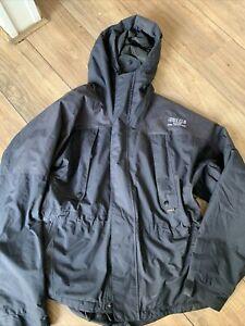keela waterproof jacket Medium Dual Protection Dark Blue Men Defects