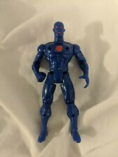 "Vintage Marvel Comics Iron Man Blue Stealth Armor 5"" Action Figure 1995 Toybiz"
