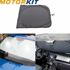 Front Rear Window Foldable Jumbo Auto Car Visor Sun Shade Windshield Cover Block