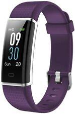Wilfull Fitness Tracker SW352 Smartwatch Wasserdicht IP68 iOS und Android Lila