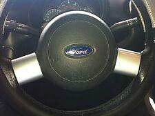 Ford Streetka Adornos volante (2003-05) - efecto de Aluminio Cepillado-Nuevo Conjunto