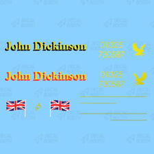 JOHN DICKINSON HEAVY HAULAGE DECAL SET 1:50 SCALE