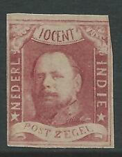 1864TG Nederlands Indie NR.1 postfris net zegel mooie kleur zie foto's..