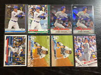 Corey Seager Lot(8) Topps Los Angeles Dodgers