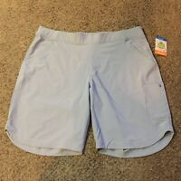 Columbia Omni-Shield Regular Fit Pullon Shorts Women Sz 1X NEW Casual Outdoors