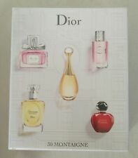Christian Dior Gift Set 4 minis Travel Set (see pics & desc.) Rare NIB Sealed