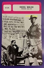 US Director Actor Raoul Walsh (period 1930-1978) French Film Trade Card