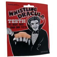 Halloween Dracula Teeth with Whistle- costume, Vampire Teeth