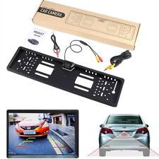 Vista posteriore auto parcheggio retromarcia visione notturna telecamere di backup targa di licenza