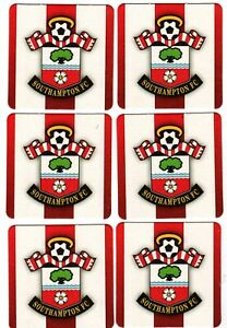 SOUTHAMPTON F.C. Pack of Official Crested Beer Mats / Coasters FREE POSTAGE UK