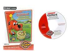 CLIFFORD THINKING ADVENTURES. EXCELLENT EDUCATIONAL SOFTWARE FOR AGES 4-6 ON PC!