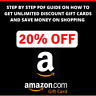 PDF GUIDE ▶️ To GET AMAZON ONLINE Shopping Gift Card 5-20 % OFF Discount  ▶️