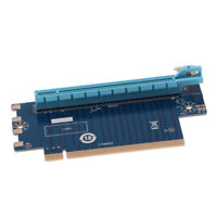 PCI-e PCI Express x16 90° Degree Right Angle Riser Card 16X Male to Female