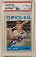 1964 Topps BOOG POWELL Signed Baseball Card PSA/DNA #89 Baltimore Orioles