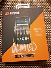 Boost mobile LG STYLO 3