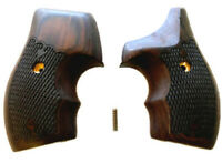 J Frame Grips fits most Smith & Wesson S&W Rosewood Checkered Half wrap NEW