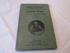Hessische Sagen 1. Reihe Wolfs Sammlung von KARL BADER - 1908- im Selbstverlag