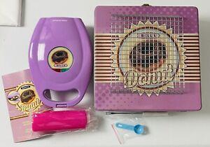 Bella Mini Donut Maker Kit In Collector Tin Purple (Never Used)
