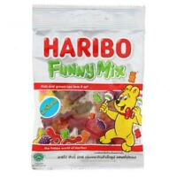 HARIBO Funny Mix Gelatin Mix Fruit Chewy Candy Dessert Kids Gift Party 80g.
