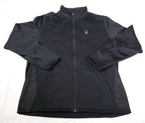 Spyder Core Sweater Mens Sz L Black Ski
