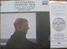 SHOSTAKOVICH SYM 14 - HAITINK / COA: DECCA SXDL 7532 - NM