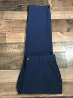 Under Armor Performance Chino Pants Mens Blue Golf Size 32x32