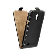 Tasche für Samsung Galaxy S4 mini - Ledertasche Flipcase Case Flip Hülle i9190