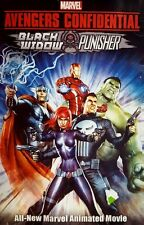 Avengers Confidential Black Widow Punisher Dvd comic book heroes S.H.I.E.L.D.