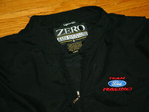 ZERO RESTRICTION PULLOVER TEAM FORD RACING NATIONAL GUARD RACING GREG BIFFLES 16