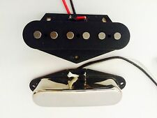 FENDER TELECASTER PICK-UP Set mano ferita per AUTHENTIC VINTAGE TELE Tono nel Regno Unito