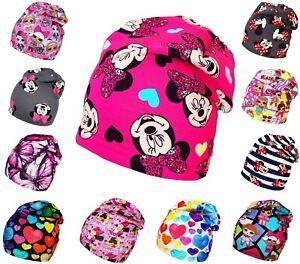 Baby Toddler Kids Girl Beanie Hat Spring Autumn Cotton Cap 1-2-4-8-12 Years