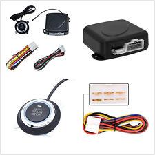 4 Pcs Car Alarm Start Security System Key Passive Keyless Entry Push Button Kit