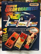 Matchbox Super Colour Changers Perfectly New Moc Mod 4
