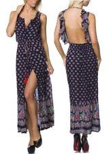 Ärmellose Damenkleider mit Rüschen den Sommer