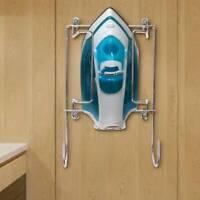 Wall Mounted Holder Ironing Board Cupboard Door Bracket Hanger Tidy Storage UK