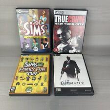 PC Spielepaket-Sims, Hitman, True Crime, Sims 2 Fun Stuff