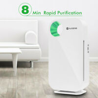 AUGIENB 802 HEPA Air Purifier Ionizer Filter Smoke Odor Dust Allergies Remover