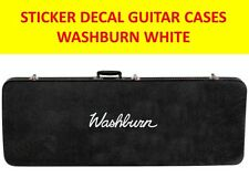 WASHBURN WHITE STICKER GUITAR CASES VISIT OUR STORE WITH MANY MORE MODELS