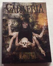CADAVERIA doppio DVD: KARMA - doppio DVD retrospettivo - Nuovo
