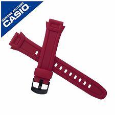 Genuine Casio Watch Strap Band for W-756-4AV W 756 RED W756 10287402