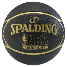 Spalding Basketball NBA Highlight Outdoor Streetbasketball schwarz/gold Größe 7