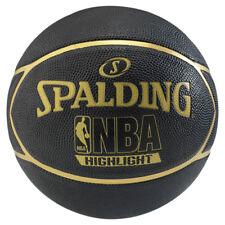 Spalding Basketball NBA Highlight Streetbasketball Outdoor Schwarz/gold Gr. 7