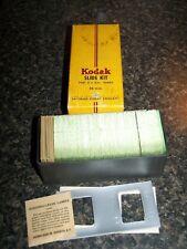 Kodak- Slide Kit - 100 Slide Glasses With Accessories (Masks, Covers, Id labels)