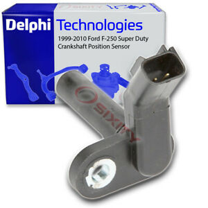 Delphi Crankshaft Position Sensor for 1999-2010 Ford F-250 Super Duty 5.4L vf